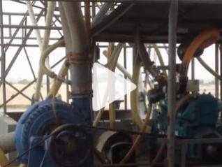 耐磨渣浆泵工程案例
