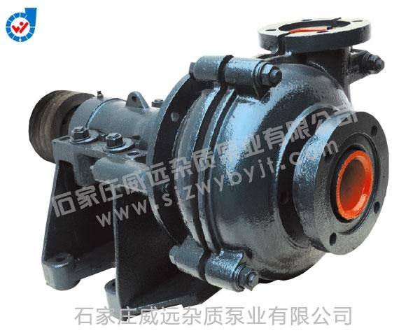 WA-R系列耐酸衬胶耐磨渣浆泵
